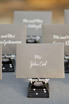 Ojai Wedding from Aaron Delesie, Mindy Rice + Lisa Vorce Wedding Seating Cards, Wedding Cards, Diy Wedding, Wedding Events, Wedding Ideas, Wedding Bells, Wedding Table, Wedding Favors, Wedding Decor