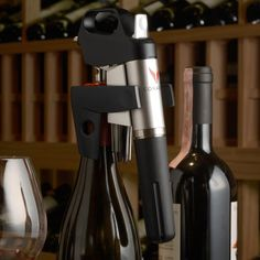 #Try this tool - it allows you to sample a #wine without opening it.  #Coravin $299