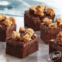 Salted Caramel Peanut Candy Bar Brownies from Crisco®