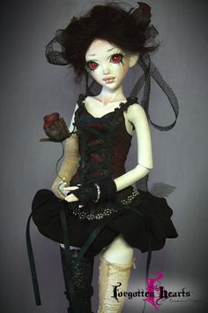 Ooak Porcelain BJD Doll by Forgotten Hearts  by ForgottenHearts via Etsy