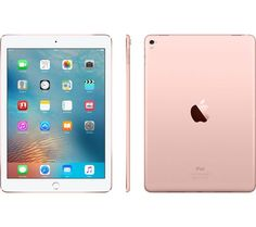 Buy Rose Gold Apple iPad Pro, iOS, Wi-Fi & Cellular, from our View All Tablets range at John Lewis & Partners. Ipad Pro Apple, Ipad Pro 12, Apple Laptop, Ipad Pro Rose Gold, Ipad Rose, Kawaii Disney, Ipad Mini, Apple Marca, Apple Rose Gold
