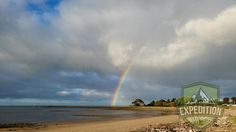 A photo of a spectacular rainbow forming at the East Devonport Beach. This photo was taken in East Devonpor Tasmania.  #tasmania #tasmaniagram #discovertasmania #instatassie #expeditionoutdoors #SeeAustralia #discoveraustralia #earthpics #bestnatureshots #igpowerclub #igphotoworld #GlobalCapture #Exploringtheglobe#bestworldpics #phenomenalshot #AdventureTasmania #photooftheday #traveldiary #beautifulnature #explore #adventure #livelife #wow_australia2016 #naturewelove #ocean #rainbow #beach…