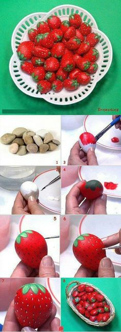 Painted Rocks Ideas Best Rock Art Designs Garden Ideas Source by isolinamm Pebble Painting, Pebble Art, Stone Painting, Rock Painting, Diy And Crafts, Craft Projects, Crafts For Kids, Arts And Crafts, Kids Diy