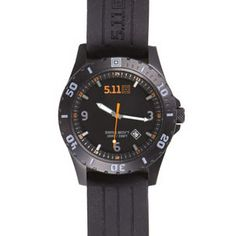 5.11 tactical Sentinel watch is a rugged field watch for use by Private contractors and security personnel.
