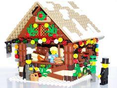 Lego pretzel stand