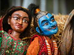 Puppets from the Fetch Theatre Co @ Glass Festival (image by Dee Patel).