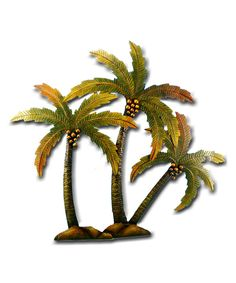Look at this Triple Palm Tree Wall Décor on #zulily today!