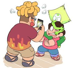 """I hope that Peridot comes in contact with human of Beach City."""