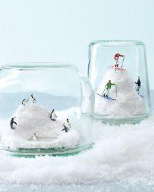 Snowy Diorama - Recipes, Crafts, Home Décor and More | Martha Stewart