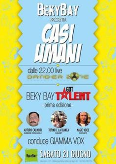 Dange Zone, Magic Voice, Arturo Calindri e tantissimi ospiti in unico sabato al Beky Bay Igea Marina - Bellaria