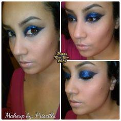 New! NYE party makeup. Tutorial. Youtube.com\makeupbypriscilla