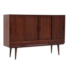 1stdibs - Rosewood sideboard by Gunni Omann for Oman Junior, high version explore items from 1,700  global dealers at 1stdibs.com