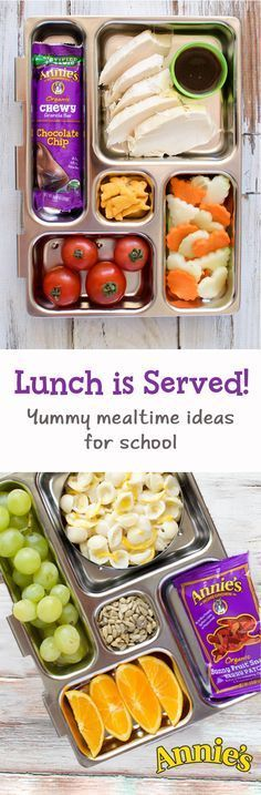 New year, new lunch box! Hit the refresh button on school lunches and fill your kids' lunch boxes with the good stuff: fresh, delicious ingredients and convenient wholesome snacks from Annie's. Looking for more great lunch ideas? Check out Annie's lunch library to put the YUM back in the lunch box!