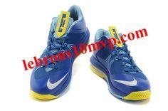 7bfa37bde838 Nike LeBron X Low Treasure Blue White Vol 579765 500 Lebron Shoes For Sale