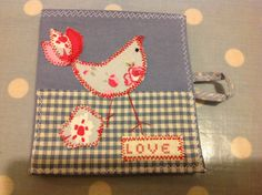 Cute Little bird needle case from 'Love Sewing'. http://www.facebook.com/Lovesewing.uk