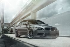 With this BMW E92 M3, you get two things: a beautiful looking Frozen Gray finish and a set of lightweight ADV.1 Wheels.