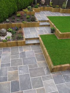 Browse images of black modern Garden designs: GALAXY SANDSTONE PAVING. Find the best photos for ideas & inspiration to create your perfect home. patio Galaxy sandstone paving: garden by barton fields landscaping supplies, modern sandstone Modern Garden Design, Backyard Garden Design, Modern Backyard, Diy Garden, Modern Landscaping, Backyard Landscaping, Landscaping Ideas, Backyard Ideas, Contemporary Garden