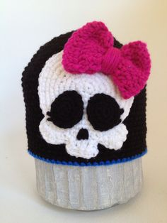 Crochet Monster High Hat - idea only, available for purchase