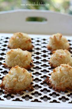 Easy Coconut Almond Macaroons