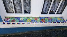 It's that time of the year where everything is blooming and looking very good. So with the beautiful spate of good weather I decided to do l. Summer Art, Mosaic, Bloom, Weather, Rugs, Home Decor, Farmhouse Rugs, Decoration Home, Room Decor