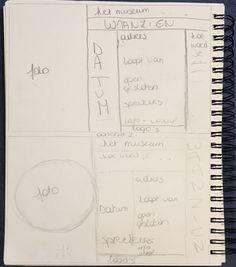 Fase 2: Schetsen concept 2