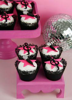Cakes Haute Couture - Pasteles de Alta Costura: Pop Star Cupcakes