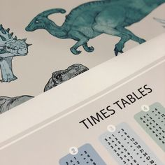 Dinosaur and Times Table Poster decals Times Table Poster, Times Tables, Kids Wall Decals, Crafts For Kids, Multiplication Tables, Crafts For Children, Kids Arts And Crafts, Easy Kids Crafts, Crafts Toddlers