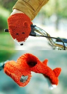handschoentjes voor op de fiets