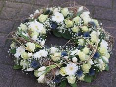 Floral Wreath, Flowers, Decor, Flowers For Funeral, All Saints Day, Floral Headdress, Floral Crown, Decoration, Decorating