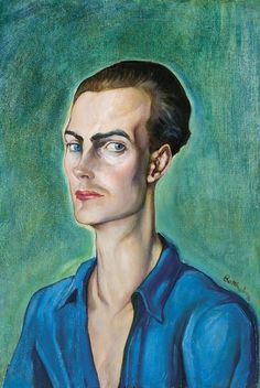 Gyula Batthyány Hungarian), Fiatal férfi portréja (Portrait of a young man). Global Art, Art Market, Young Man, Painting & Drawing, Past, Auction, Drawings, Modern Paintings, Artists