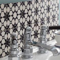 Nice 1930s Bathroom #2 - Edwardian Bathroom Floor Tiles