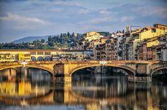 Arno che passa da Firenze