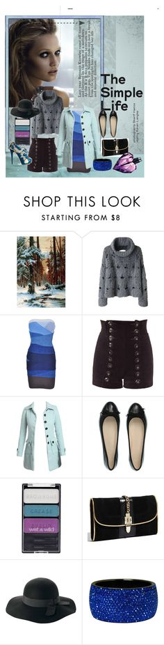 """""""Winter blues"""" by bunnys1 ❤ liked on Polyvore featuring Versace, Rachel Comey, Tamara Barnoff, Wet Seal, MaxMara, Wet n Wild, Milly, Charlotte Olympia, Diesel and coat"""