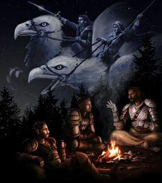 Grey warden stories Dragon age origins