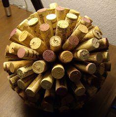 Cork Balls. http://glamorousgranola.blogspot.com/2011/08/pinterest-challenge-cork-balls.html