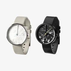 Aark Real Marble Watch