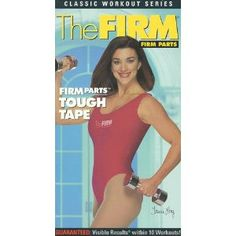 The FIRM Cross Trainers Parts Tough Tape with Tracie Long 1994