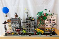 Superheroes Street by oLaF-LegoManiac, via Flickr