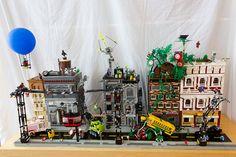 Superheroes Street by oLaF-LegoManiac, via Flickr