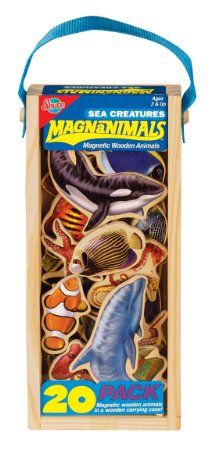 Amazon.com : T.S. Shure Sea Creatures Magnanimals : Learning And Development Toys : Toys & Games
