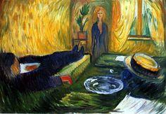 Munch, Edvard (1863-1944) - 1906 The Murderess (Munch Museum, Oslo, Norway), via Flickr.