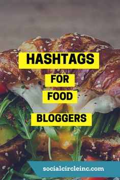 """Food bloggers beware - you're going to want to steal these hashtags immediately! We just compiled the most """"balls to the wall, crazy, super gnarly, insane"""" list of Instagram food hashtags! These are the top trending Instagram hashtags that you'll want to start"""