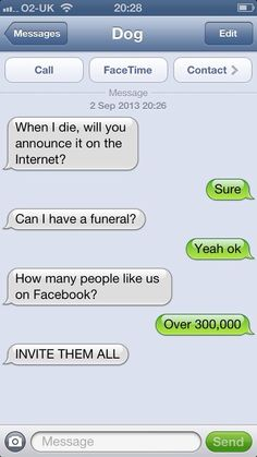 Text From Dog - So funny