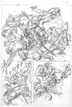 Savage Sword of Conan #38 page 42 by John Buscema – pencil prelim Comic Art
