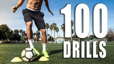 100 Individual Soccer Training Drills - YouTube
