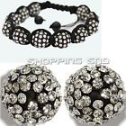 10MM DIY Clay Disco Balls Beads Czech Crystal Shamballa Pave Premium Quality ! - http://crafts.goshoppins.com/beads-jewelry-making/10mm-diy-clay-disco-balls-beads-czech-crystal-shamballa-pave-premium-quality/