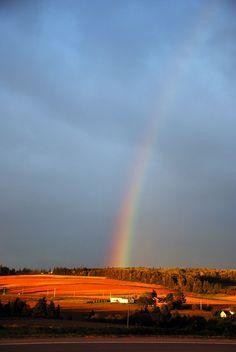 Rainbow on Prince Edward Island