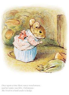 'Mrs Tittlemouse' by Beatrix Potter