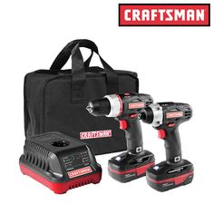 nice Craftsman Cordless Drill and Impression Driver C3 19.2V Combo Equipment w/ Case - New Check more at https://aeoffers.com/product/home-and-garden/craftsman-cordless-drill-and-impression-driver-c3-19-2v-combo-equipment-w-case-new/