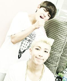 birthday selcas with the birthday boy #BTSRapMonDay <3
